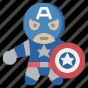 america, avangers, avatars, captain, gartoon, hero, marvel icon