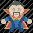 avangers, avatars, doctor, gartoon, hero, marvel, starneg icon