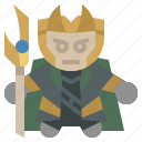 avangers, avatars, gartoon, hero, loki, marvel icon