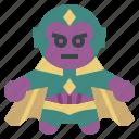 avangers, avatars, gartoon, hero, marvel, vision icon