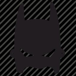 batman, face, mask, skin icon