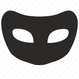 classic, face, mask, unibody, unisex icon