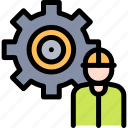 development, industry, mass, product, production icon