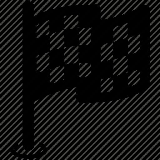 finshing, flag icon