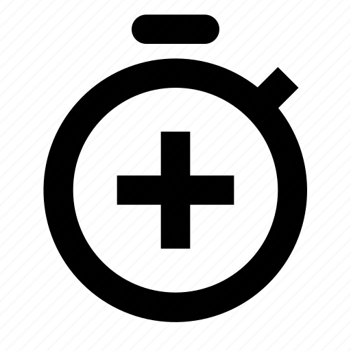 new, start, stopwatch icon