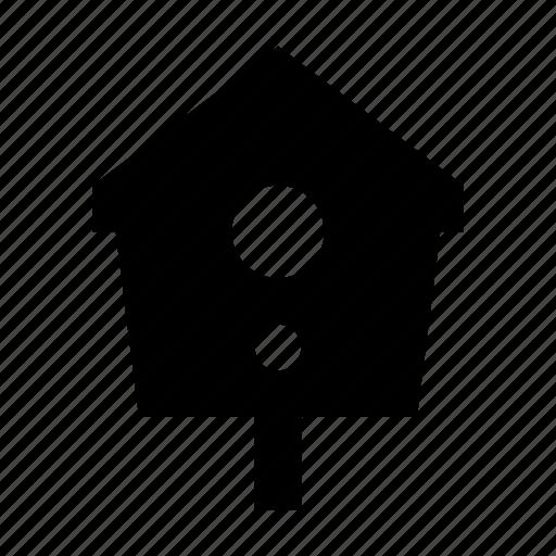 bird, house, nesting box icon