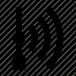 point, street, wifi icon