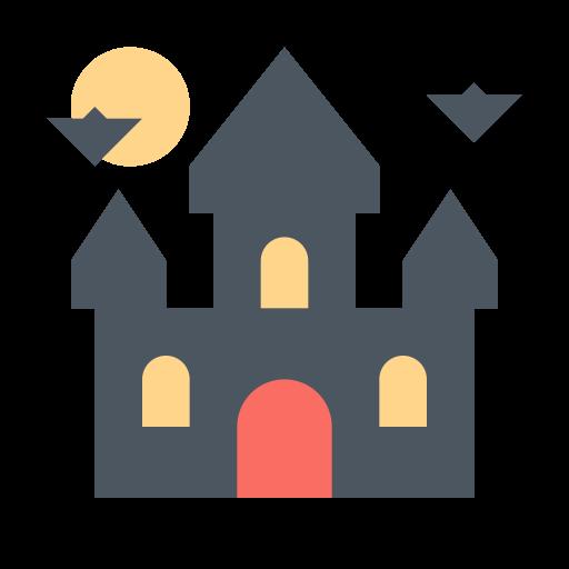 castle, dracula, halloween, horror icon