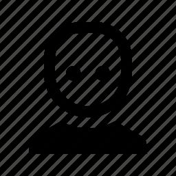 avatar, bald, hairless, human icon
