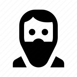 avatar, beard, guy, human, man, user icon