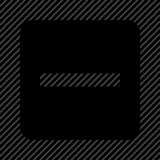 checkbox, indeterminate icon