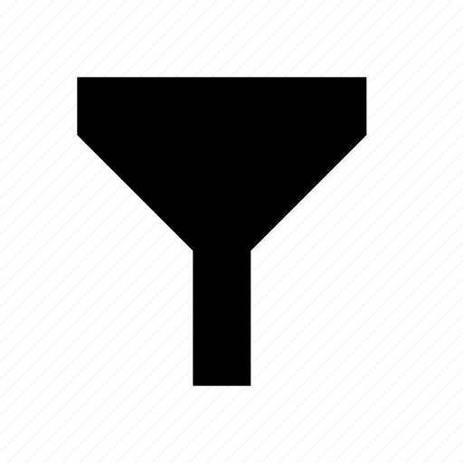 filter, filtration, funnel icon