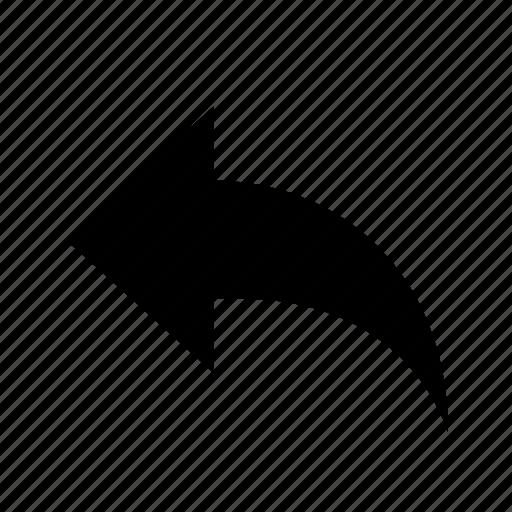 Arrow, reply, undo icon - Download on Iconfinder