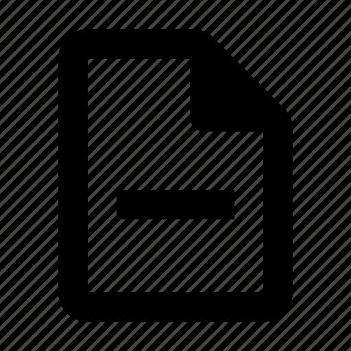 close, delete, document icon