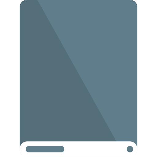 bg, drive, white icon
