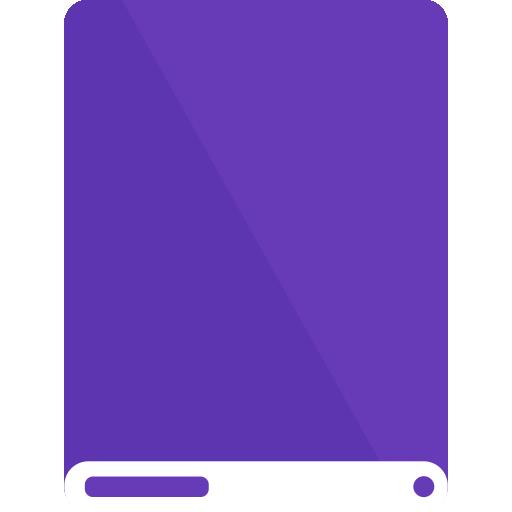 dp, drive, white icon