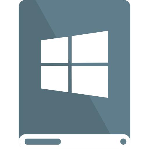 bg, drive, white, windows icon