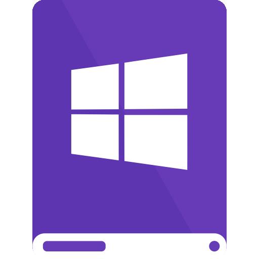 dp, drive, white, windows icon