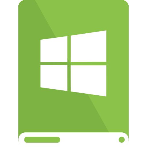 drive, lg, white, windows icon