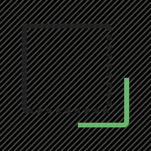 cursor, flip, front, left, navigation, pointer, to, undo icon