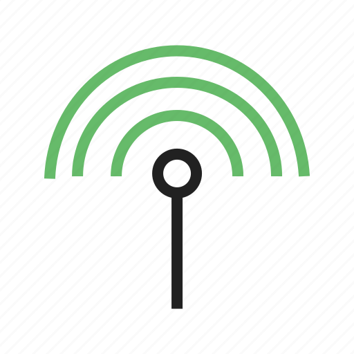 antenna, cable, connection, input, plug, settings, signal, technology icon