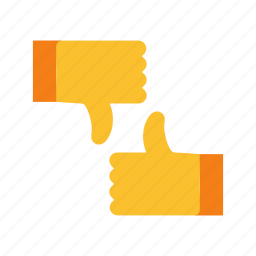 bad, dislike, down, feedback, good, thumbs, up icon
