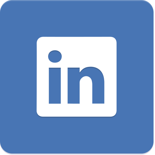 icon, linkedin, material design icon