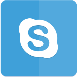 icon, material design, skype icon