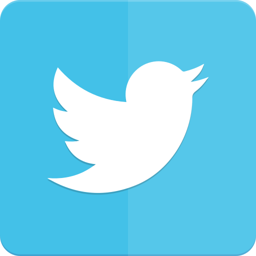 icon, material design, twitter icon