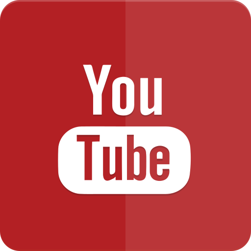 icon, material design, tube, you, youtube icon