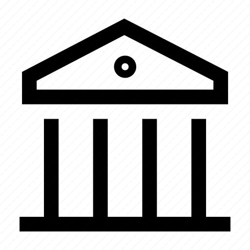 bank, banking, building, government, institute icon