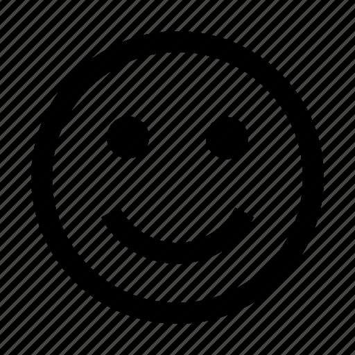 emoji, emoticon, face, happy, smiley icon