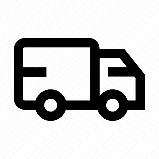 Delivery, logistic, shipping, transport, truck icon - Download on Iconfinder