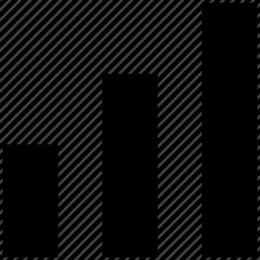 analytics, bar, chart, graph, transaction icon
