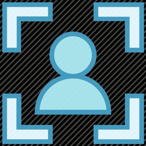 finance, focus, interface, person, ui, user icon