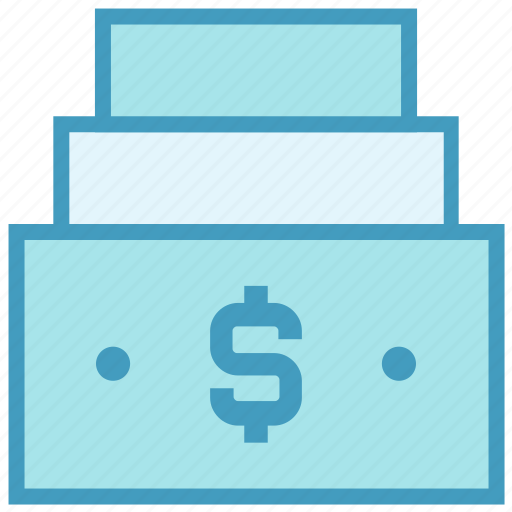 Bill, cash, dollar, dollar notes, money, notes, payment icon - Download on Iconfinder