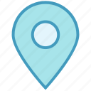 gps, location, map, navigation, pin, point, sticky icon