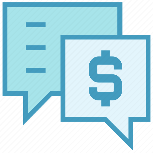 chatting, communication, conversion, dollar, dollar sign, messages, sms icon