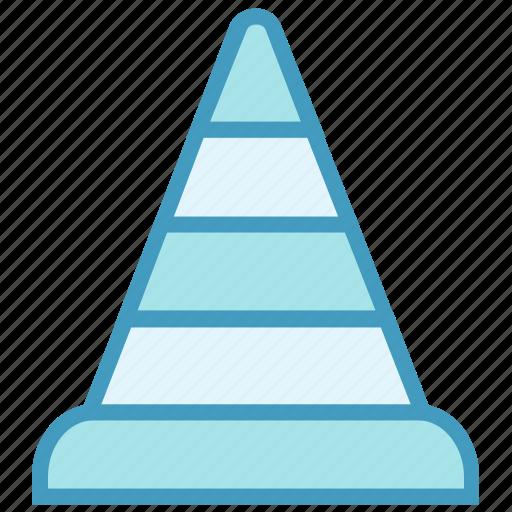 alert, cone, construction, road, road cone, street, traffic icon