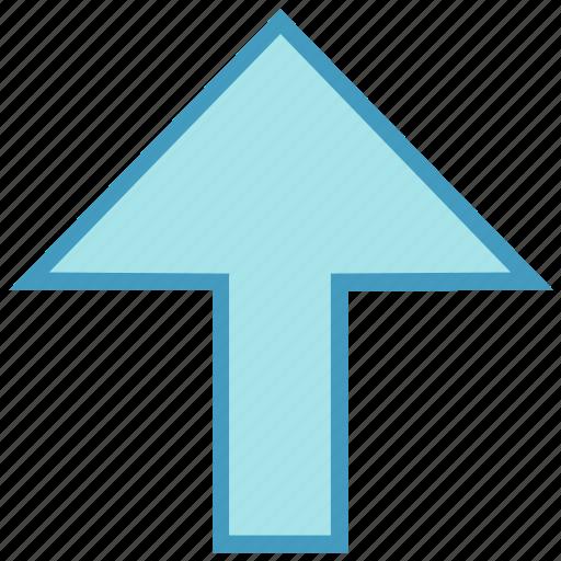 arrow, up, up arrow, uploading icon
