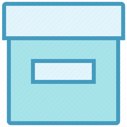archive, box, cargo, carton, delivery box, package, product icon