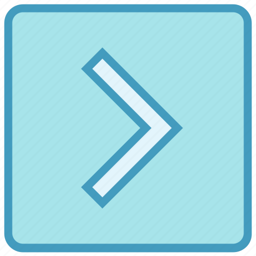 Arrow, box, calculation, inequality, less than symbols, right greater, square icon - Download on Iconfinder