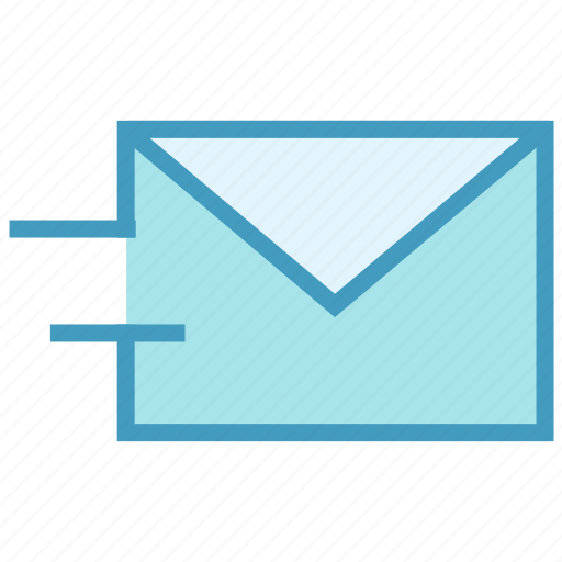 email, envelope, letter, mail, message, send, send letter icon