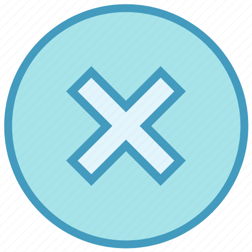 Cancel, circle, cross, cross circle, delete icon - Download on Iconfinder