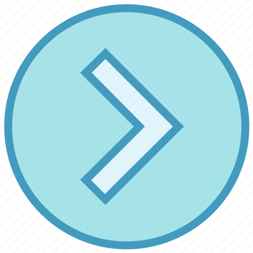 Arrow, calculation, circle, inequality, less than symbols, right greater icon - Download on Iconfinder