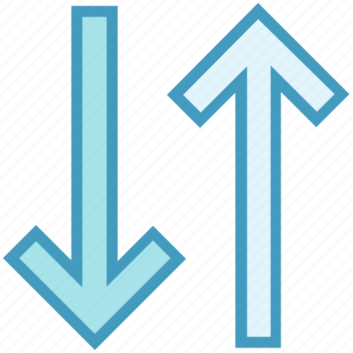 Arrows, direction, next, up down, up down arrows icon - Download on Iconfinder