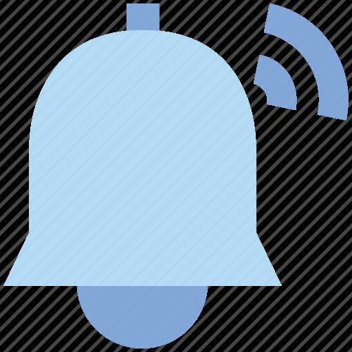 alarm, alert, bell, notification, ring, sound icon