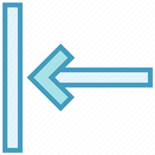 arrow, direction, left, left arrow, previous icon