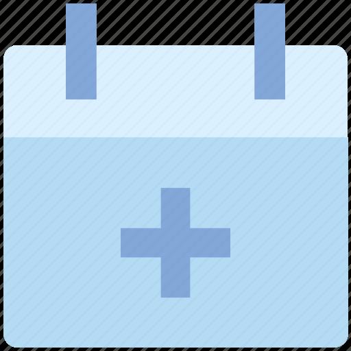 agenda, appointment, calendar, date, material, plus, schedule icon