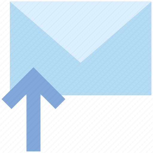 Email, envelope, letter, mail, message, send, up arrow icon - Download on Iconfinder